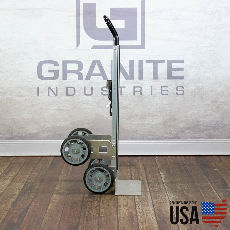 67424 Aluminum Hand Truck with Rear Wheels - 1