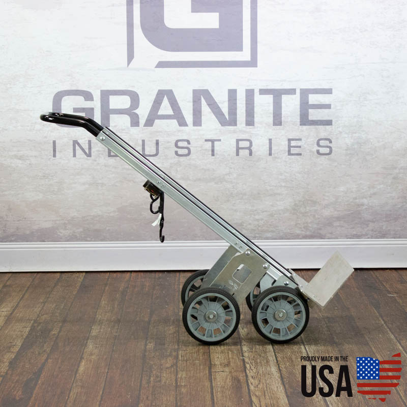 67424 Aluminum Hand Truck with Rear Wheels - 2