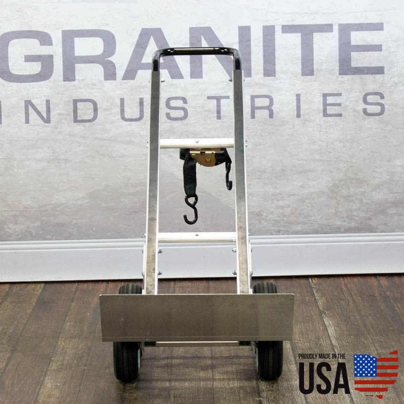 67424 Aluminum Hand Truck with Rear Wheels - 3