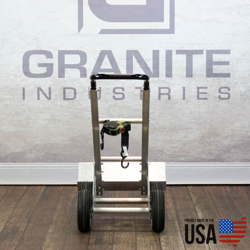 67424 Aluminum Hand Truck with Rear Wheels - 4