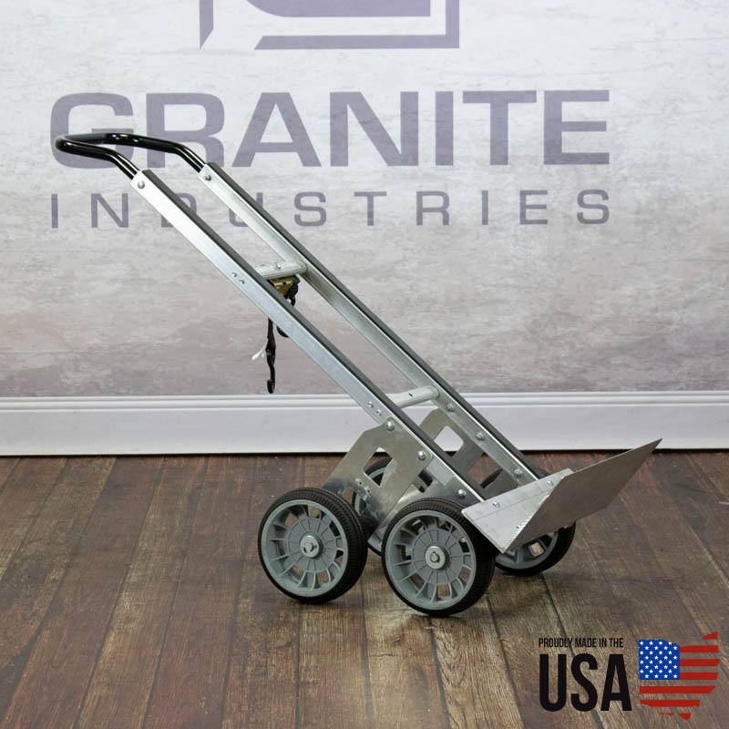 67424 Aluminum Hand Truck with Rear Wheels - 5